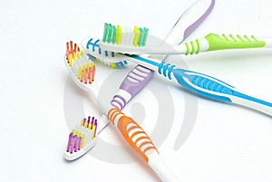 Colourful Toothbrushes Stock Photos - Image: 15874393