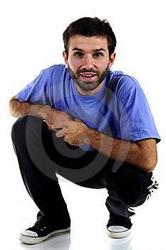 Young Man In Sports Wear Royalty Free Stock Photo - Image: 15875105