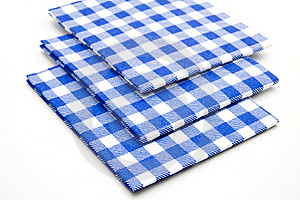 Blue Whiteness Table Cloths Stock Photo - Image: 15875240