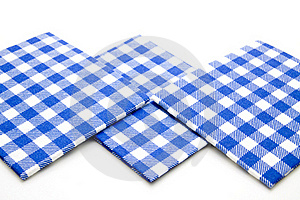 Blue Whiteness Table Cloth Stock Photo - Image: 15875340