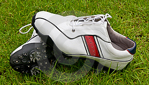 Golf Shoes Stock Photos - Image: 15876063