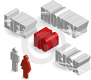 A Context For Concept Of Risk Royalty Free Stock Image - Image: 15877616