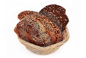Bread With Sesame Seeds Royalty Free Stock Images - Image: 15877949