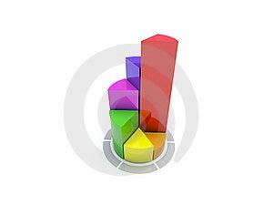 Circular Diagram On White Stock Images - Image: 15878354