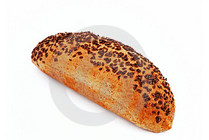 Bread With Sesame Seeds Stock Photos - Image: 15879523