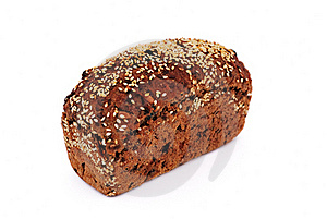 Bread With Sesame Seeds Stock Photo - Image: 15879560