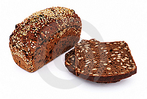 Bread With Sesame Seeds Royalty Free Stock Photos - Image: 15879578