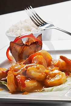 Seafood Dish Royalty Free Stock Image - Image: 15880376