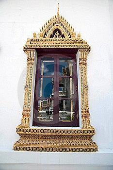 Thai-style Windows. Stock Photos - Image: 15881453