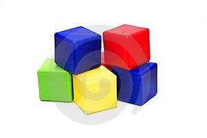 Colour Cubes Stock Images - Image: 15881854