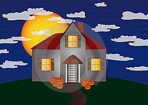 Halloween House Stock Photos - Image: 15883013