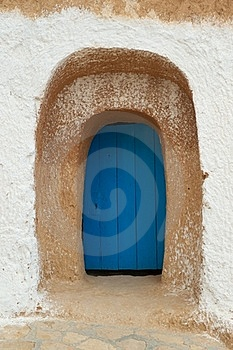 Old Blue Door Royalty Free Stock Images - Image: 15884079