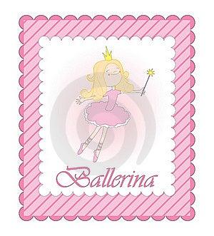 Ballerina Pink Card Stock Photos - Image: 15884423