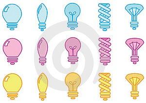 Light Bulbs Stock Photos - Image: 15884583