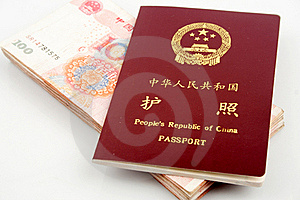 Passport And Currency Stock Photography - Image: 15884742