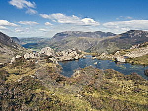 Lake District Cumbria Mountain View Stock Images - Image: 15887334