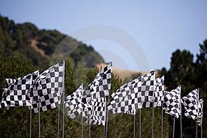 Checkered Flags Stock Photos - Image: 15887913