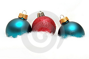 Holiday Baubles Royalty Free Stock Photos - Image: 15888028