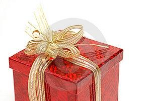 Red Gift Box Stock Photo - Image: 15888070