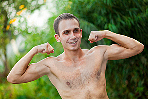 Young Man  In Physical Activity Royalty Free Stock Image - Image: 15888266