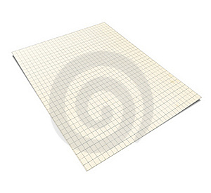 3D Illustration Of Squared Notebook, Royalty Free Stock Image - Image: 15889906
