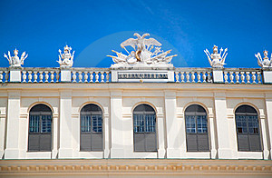 Detail Of Castle Schoenbrunn In Vienna Stock Photography - Image: 15890132