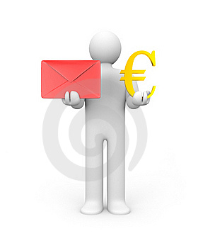 Monetize You Mail Royalty Free Stock Image - Image: 15890186