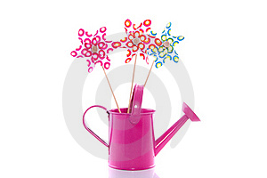 Colorful Windmill Toys Royalty Free Stock Photography - Image: 15893297