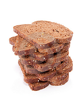 Slices Of Wholemeal Cereal Bread Royalty Free Stock Photos - Image: 15893318