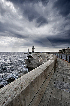 France, Corsica, Bastia, View Of The Port Stock Photos - Image: 15894413