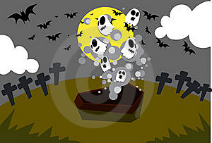 Raise From The Dead. Stock Photography - Image: 15894702