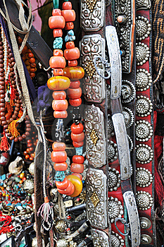 Tibetan Jewelry Stock Photo - Image: 15894940