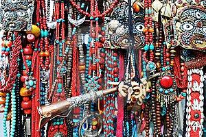 Tibetan Jewelry Stock Photos - Image: 15894953