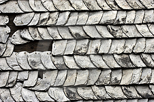Damaged Roof Stock Images - Image: 15896584