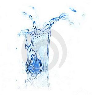 Water Splash Stock Image - Image: 15896701