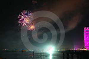 Pink Night Royalty Free Stock Photography - Image: 15897017
