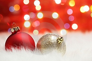 Christmas Ball Royalty Free Stock Photos - Image: 15897838