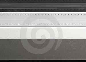 Glass Unit With White Colorized Spacer Stock Photography - Image: 15898092