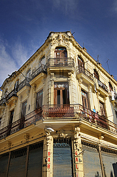 Old Havana Building Facade Royalty Free Stock Photography - Image: 15899987
