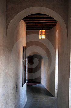 Castle Hallway Royalty Free Stock Images - Image: 1592459