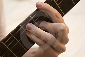Guitar Chord Royalty Free Stock Images - Image: 1593249
