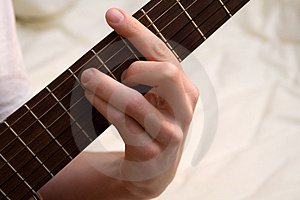 Guitar Chord Stock Photo - Image: 1593310