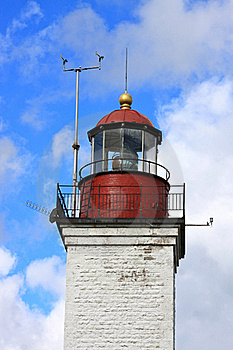 Lanterne De Phare De Cru Photo libre de droits - Image: 15900115