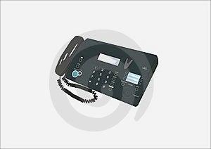 Telephone Set Royalty Free Stock Image - Image: 15902766