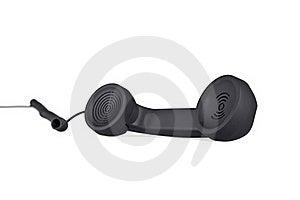 Black Telephone Tube Stock Images - Image: 15903244
