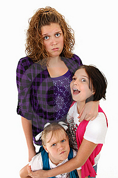 Funny Family Expressions Stock Photo - Image: 15904850