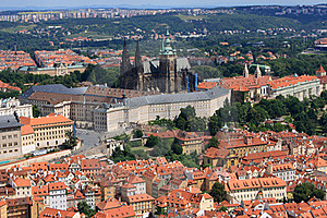 Panorama Of Prague Royalty Free Stock Photo - Image: 15908065