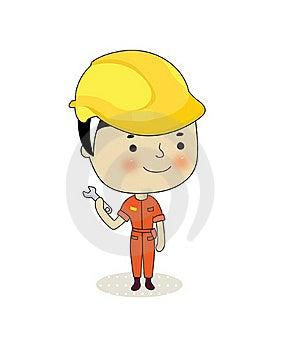 Electricista Imagen de archivo libre de regalías - Imagen: 15911336