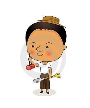 Gardener Royalty Free Stock Image - Image: 15911346