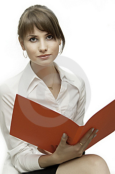 Beautiful Young Business Woman Royalty Free Stock Photo - Image: 15911575